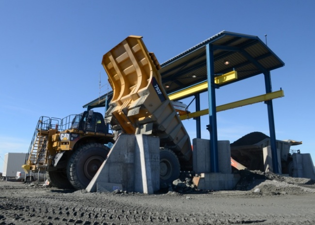 Mining major LKAB might be part of a future deal on the Kaunisvaara mine in northern Sweden. (Jonas Karlsbakk/Barents Observer)