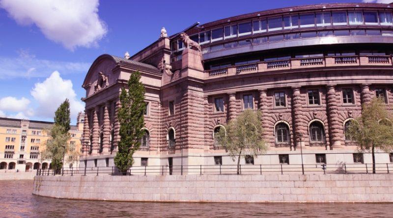 Parliament building Stockholm, Sweden. (iStock)