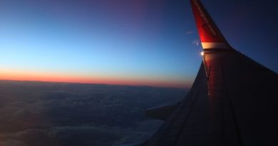 The last sunrays on the way north… (Irene Quaile)