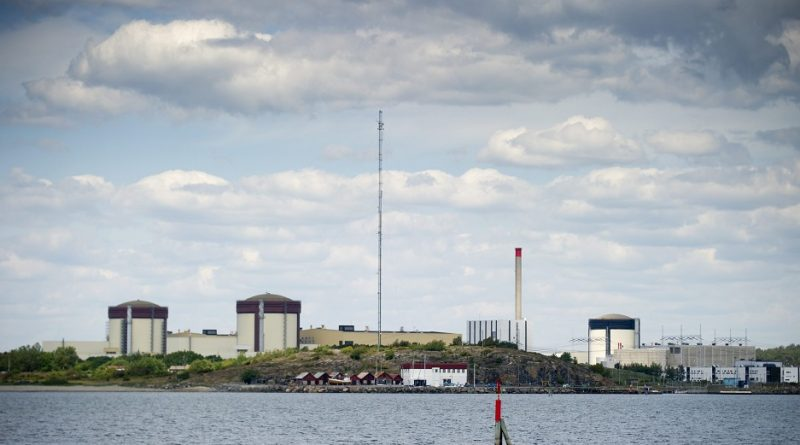 Sweden's Ringhals atomic power station in 2012. (Bjorn Larsson Rosvall/AFP/Getty Images)