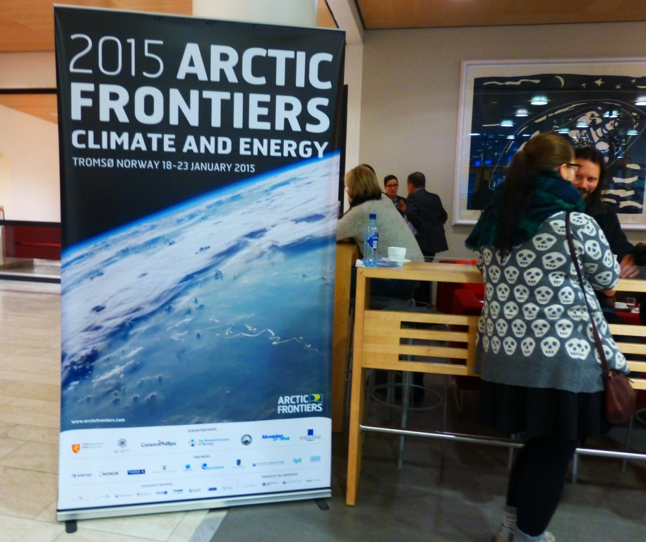 Tromso campus, the Arctic University of Norway, hosts Arctic Frontiers. (Irene Quaile)