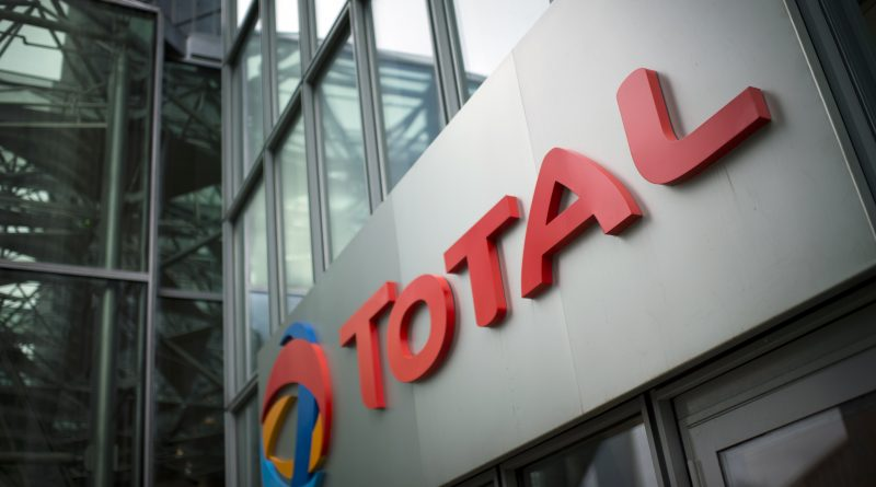 The headquarters of Total, in La Defense business district, near Paris. (Martin Bureau/AFP/Getty Images)