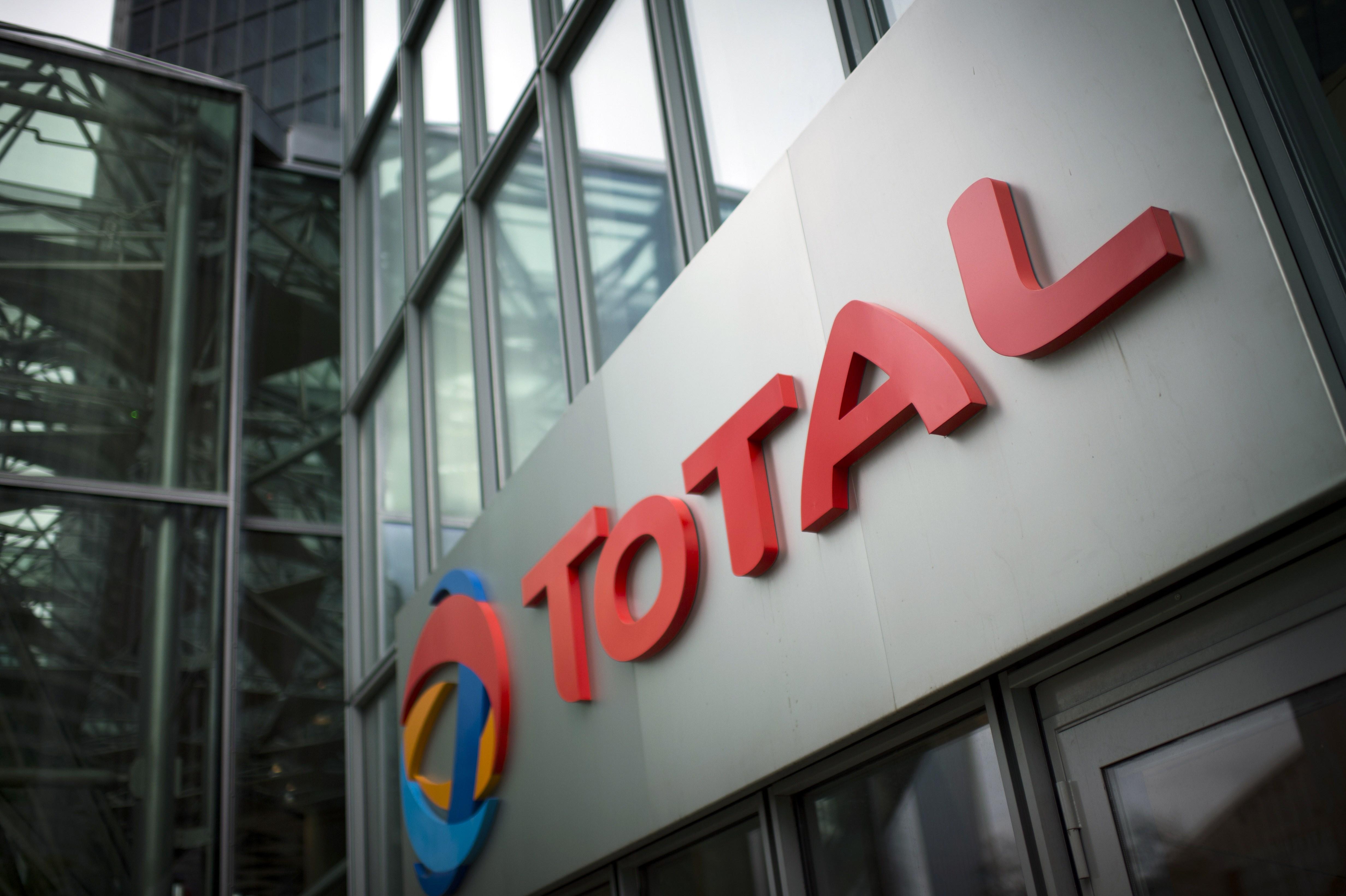 The headquarters of Total,  in La Defense business district, near Paris. (Martin Bureau/AFP/Getty Images)