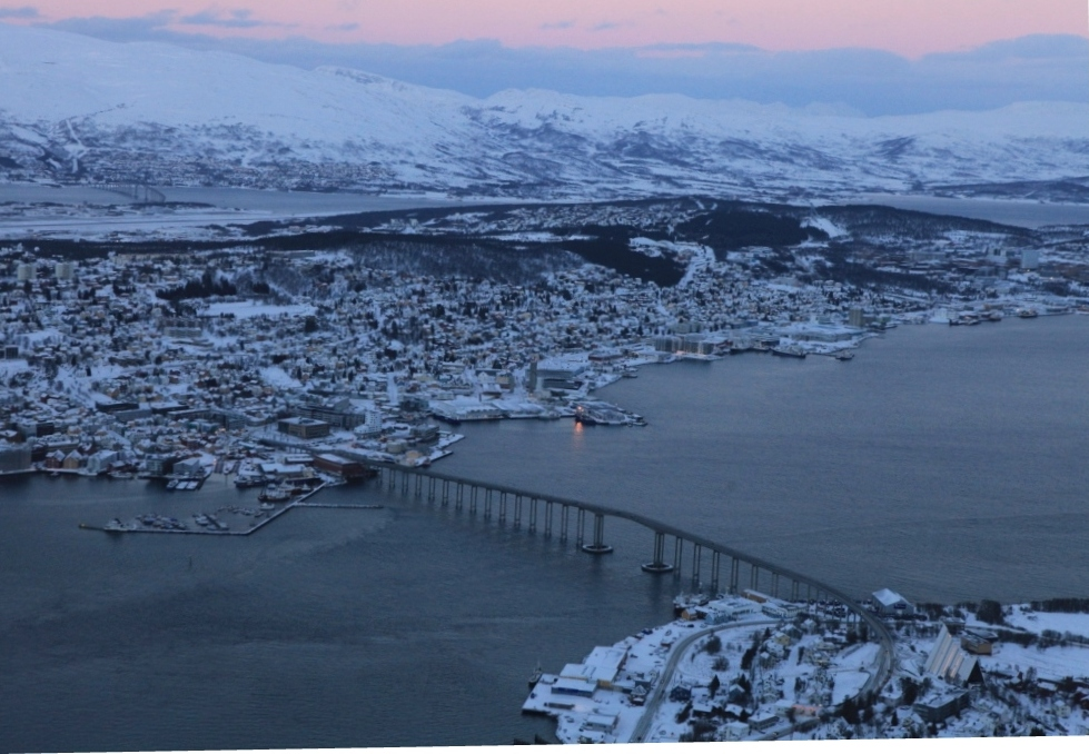 Tromso: the gateway to the Arctic. (Irene Quaile)