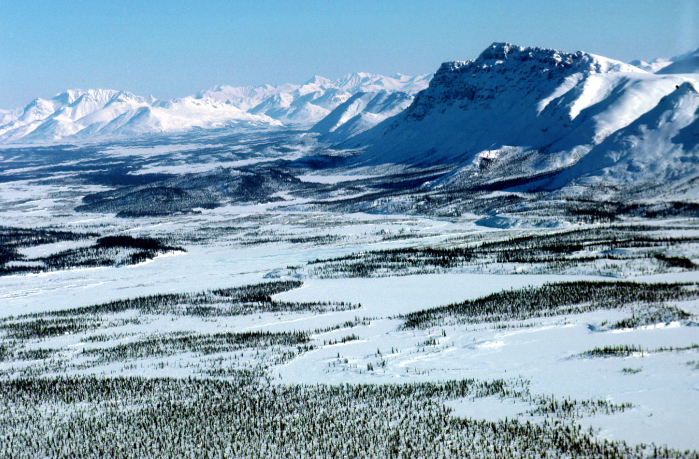 An undated landscape in Alaska's Arctic.  (U.S. Fish and Wildlife Service/Getty Images)