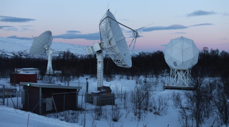 Data from polar orbit satellites is received and processed at KSAT in Tromso. I was able to visit in January. (Irene Quaile)