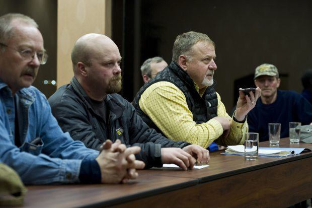 A special meeting of the Iditarod Trail Sled Dog Race board of directors ended Tuesday evening with a decision to move the race restart from Willow to Fairbanks. (Marc Lester / Alaska Dispatch News)