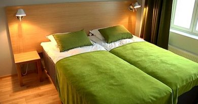 Empty beds at an Imatra hotel in eastern Finland. (Yle)