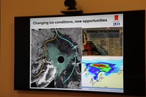 Satellite data shows ice changes. (Irene Quaile)