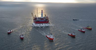 Prirazlomnaya platform. (Gazprom)
