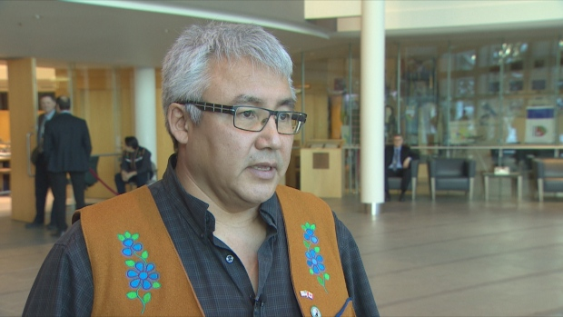 'We've come a long way,' says Leonard Kenny, chief of Deline. Deline's self-government agreement passed first reading in the N.W.T. legislature on Monday. (CBC)