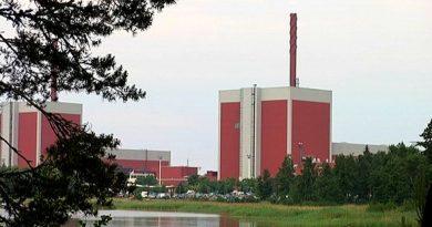 Olkiluoto nuclear power plant at Eurajoki. (Yle)