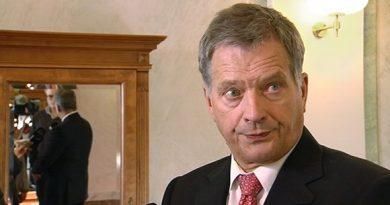 President Sauli Niinistö. (Yle)