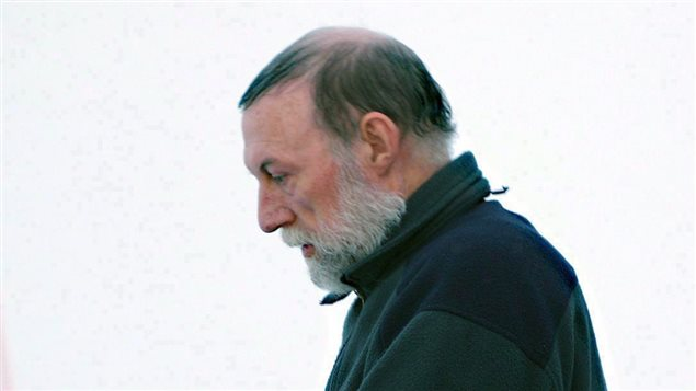 Eric Dejaeger leaves an Iqualuit courtroom in the northern territory of Nunavut on Jan. 20, 2011. Today he was sentenced to 19 years in prison for dozens of horrific sex crimes against aboriginal children. (Chris Windeyer/Canadian Press)