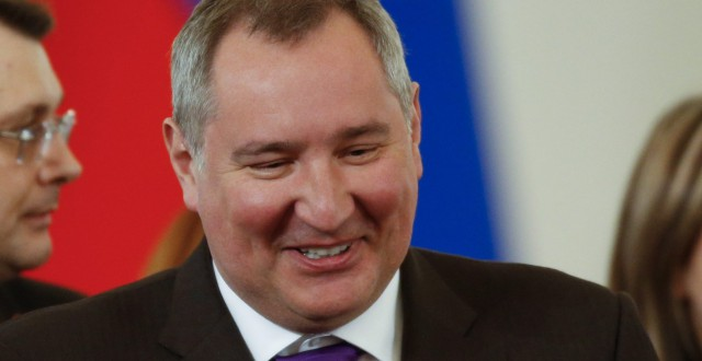 Dmitry Rogozin heads Russia's commission for Arctic affairs. (Alexander Zemlianichenko/AP)