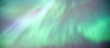 Aurora over Stockholm. (Kris Boswell/Sveriges Radio)