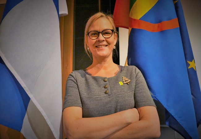 Eva Biaudet is Finland's Non Discrimination Ombudsman. (Photo: Thomas Nilsen)