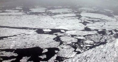 The ice in the central Arctic Ocean thinned 65 percent between 1975 and 2012, a new study shows. (Thomas Nilsen/Barents Observer)