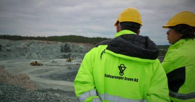 Mining will continue for another three months, but is uncertain after June. (Thomas Nilsen/Barents Observer)