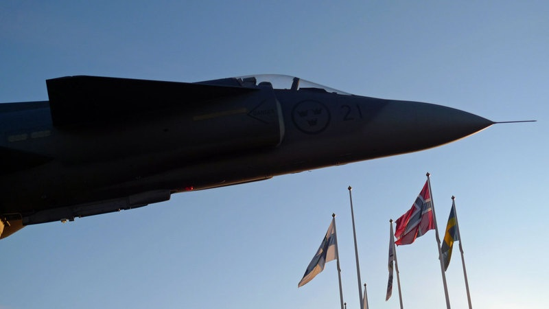 Fighter jets from Norway, Sweden and Finland will take part in joint drill in May. (Thomas Nilsen/Barents Observer)
