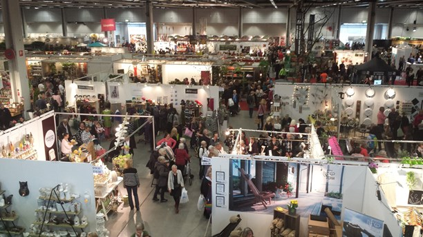 The Nordic Garden Trade Fair from above. (Vincent Cavalier/Sveriges Radio)