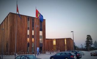 Sámi Cultural Center Sajos in Inari also includes the Finnish Sámi parliament hall. (Photo: Thomas Nilsen)