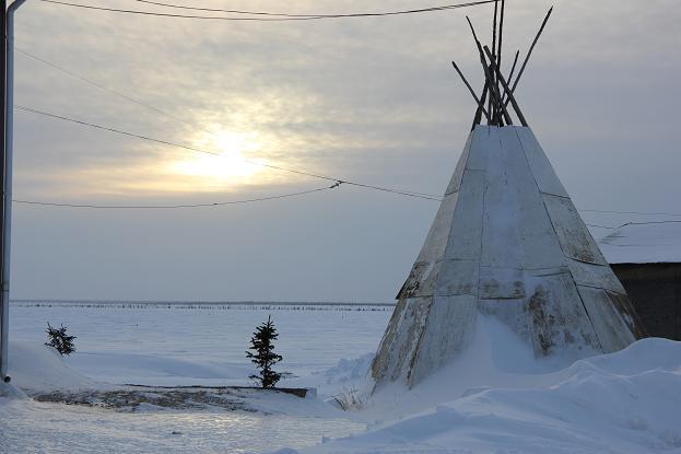 Deline, Northwest Territories. (Eilís Quinn/Eye on the Arctic)