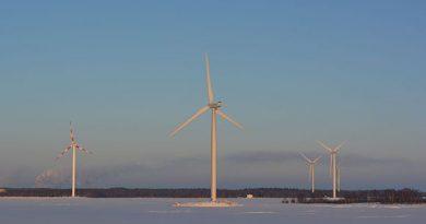 An offshore wind farm near the coastal city of Kemi in northwest Finland. (Riikka Rautiainen/ Yle)
