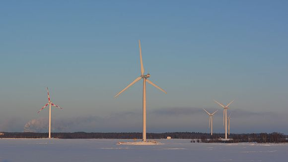 An offshore wind farm near the coastal city of Kemi in northwest Finland. (Riikka Rautiainen/ Yle)
