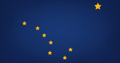 The Alaska flag. What will the upcoming U.S. chairmanship mean for the state? (iStock)