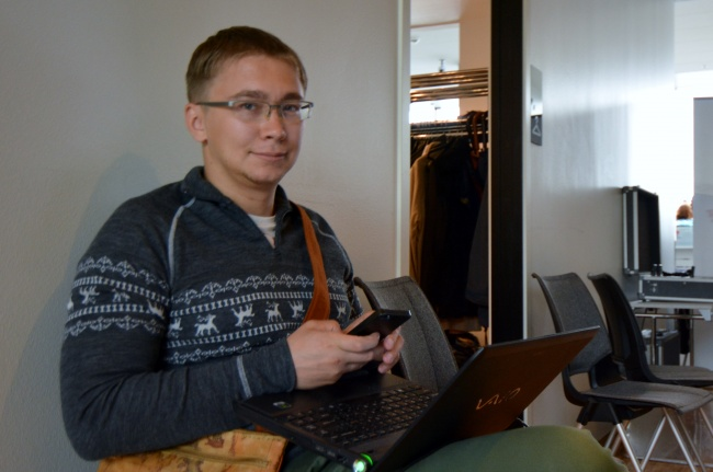 Aleksandr Serebryanikov, owner of the Bloger51 site, was in 2013 accused of violations of a criminal code paragraph on incitement of national, racial, or religious enmity. (Thomas Nilsen/Barents Observer)