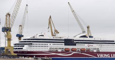 The ferry M/S Viking Grace belonging to Finnish cruise company Viking Line. (Heikki Saukkomaa/AFP/Getty Images)