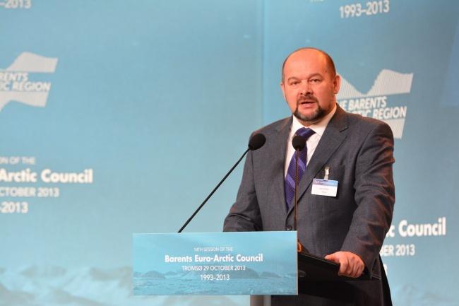 The Barents cooperation goes beyond big politics, Arkhangelsk Governor Orlov says. (Thomas Nilsen/Barents Observer)