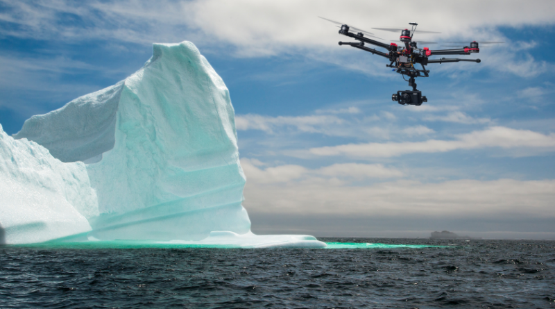 Tourists' use of UAVs at the Poles may lead to increased noise pollution, disturbances to wildlife and may interfere with scientific work in the Arctic and Antarctic. (iStock)