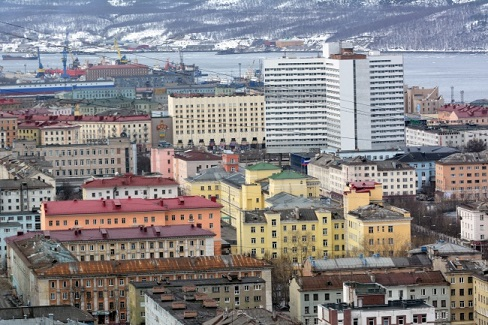 Murmansk, the largest city in the world north of the Arctic Circle. (Thomas Nilsen/Barents Observer)