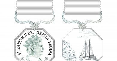 Canada's Polar Medal design. (Governor General of Canada)