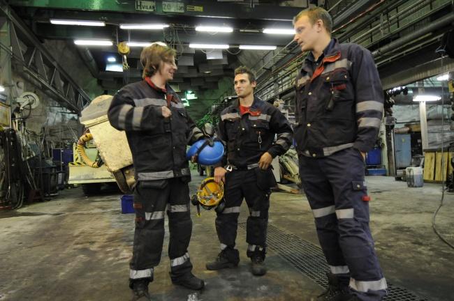 LKAB miners in Kiruna, Sweden. (BarentsObserver)