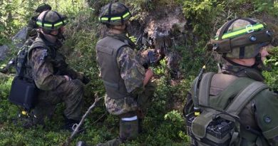 The defence forces' largest scale annual activity the Wihuri war games was held in early June near the eastern border of North Karelia. (Anu Rummukainen / Yle)