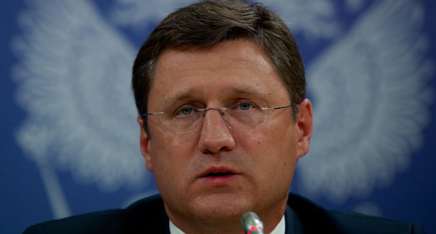 Russia's Energy Minister Aleksander Novak  in Moscow on Aug. 29, 2014. (Ivan Sekretarev/AP)