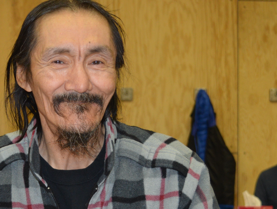 Paul Amagaolik, QIA's Resolute Bay community director, has been involved in the Qausuittuq park project f or over 15 years. (Courtesy QIA)