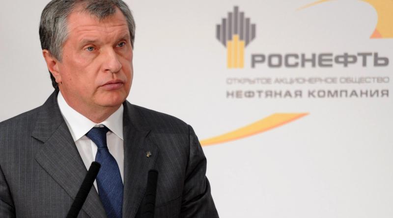 Igor Sechin, the CEO of state-controlled Russian oil company Rosneft, in October 2013. (Alexei Nikolsky/Presidential Press Service/AP Photo/RIA-Novosti)