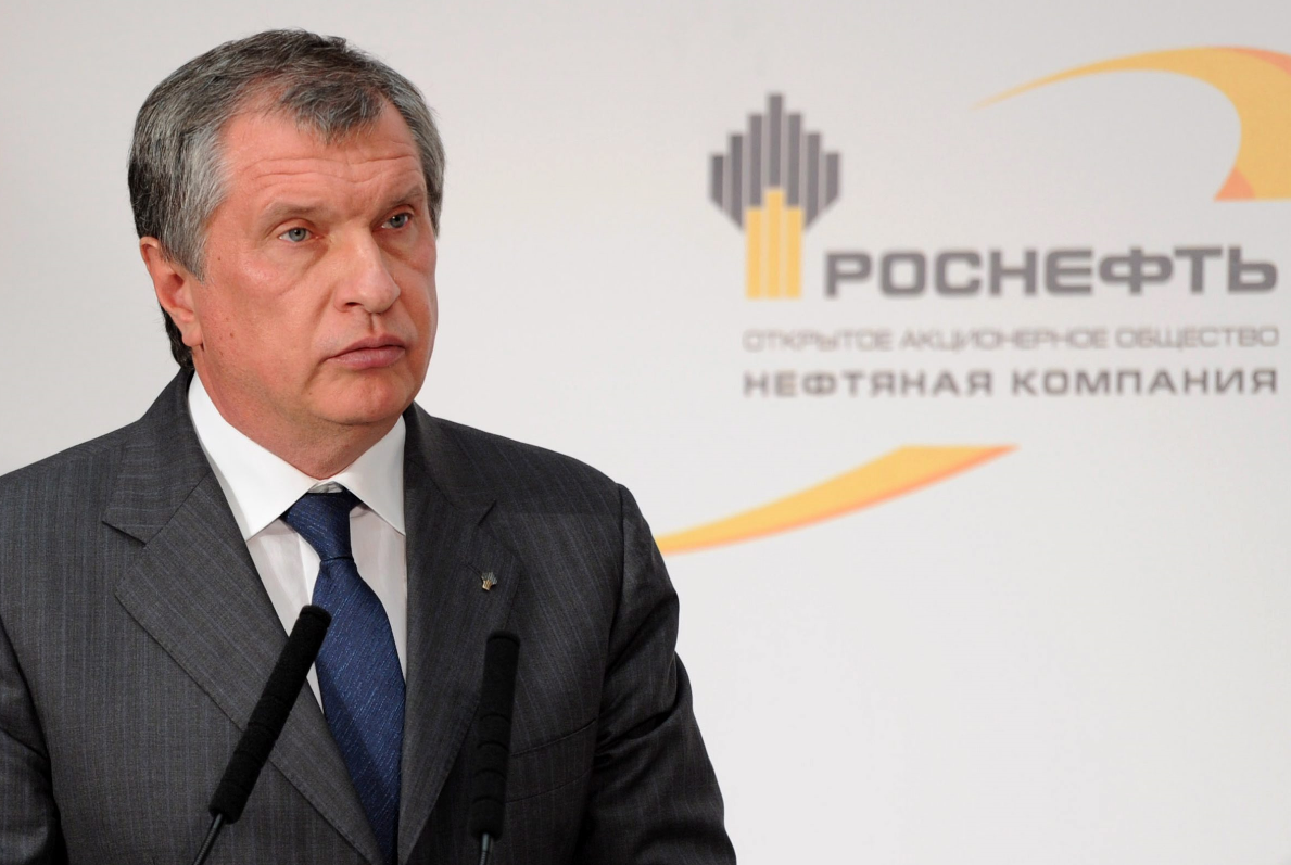 Igor Sechin, the CEO of state-controlled Russian oil company Rosneft, in October 2013. (Alexei Nikolsky/Presidential Press Service/AP Photo/RIA-Novosti)