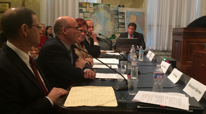 Alaskans and an Interior Department official testify at a U.S. House Subcommittee on Energy and Mineral Resources hearing on Arctic drilling issues on June 16, 2015.(Erica Martinson/Alaska Dispatch News)