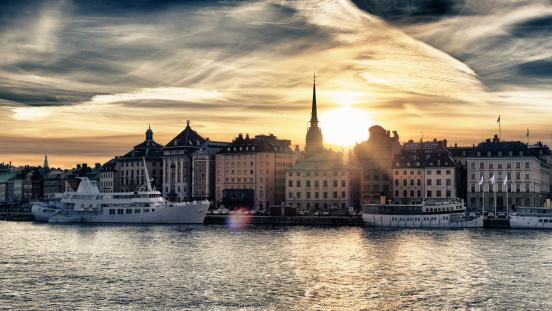 Stockholm skyline. (Getty)