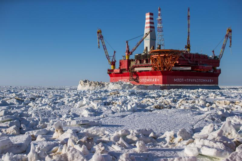 The Prirazlomnoye field. (Gazprom Neft)