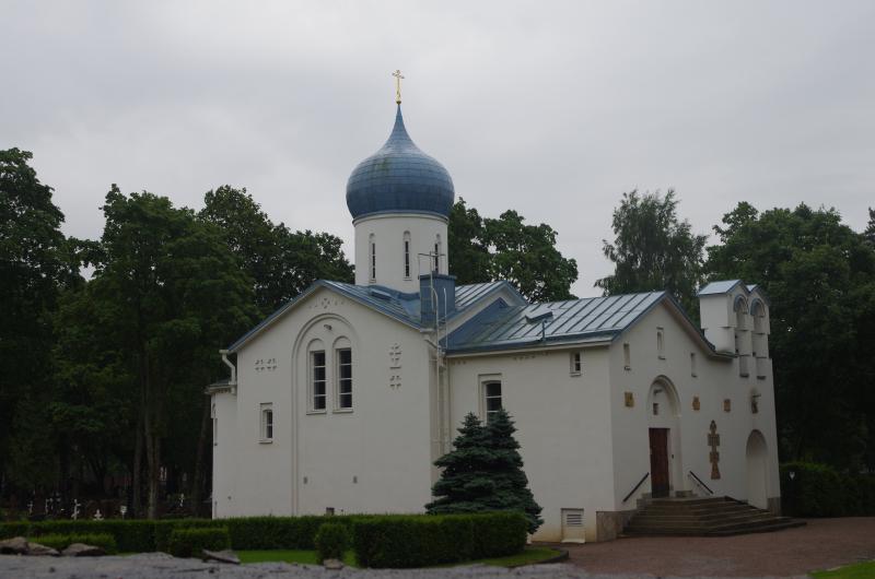 A Russian Orthodox church in Helsinki. (Mia Bennett)