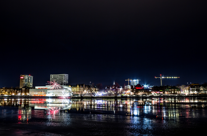 How will climate change effect Sweden's coastal cities, like Umeå (pictured above), in northern Sweden. (iStock)