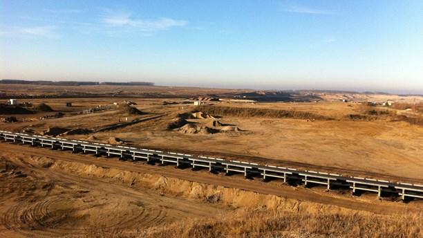 Vattenfall's coal mine in Welzow sûd in Eastern Germany. (Pelle Zettersten/Sveriges Radio)