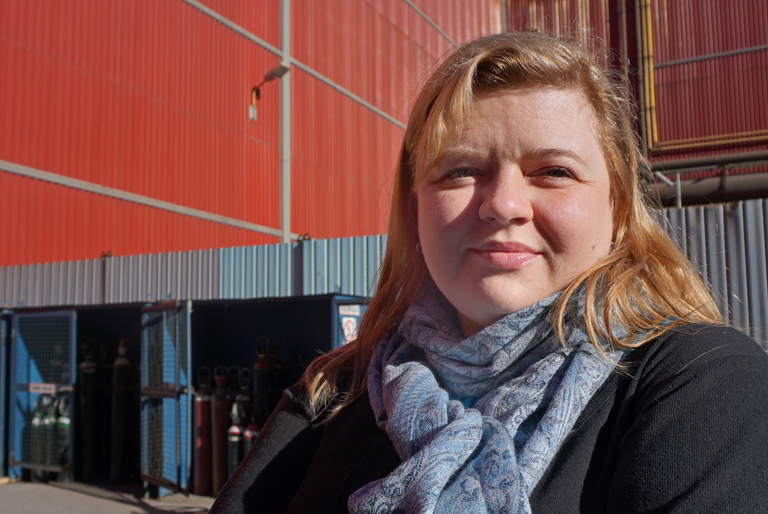 Anna Kireeva works with the environmental organization Bellona Murmansk. (Thomas Nilsen/Barents Observer)