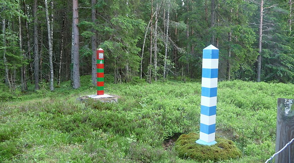The border between Finland and Russia. (Yle)